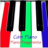 pianoforte jazz solista : Piano fragments