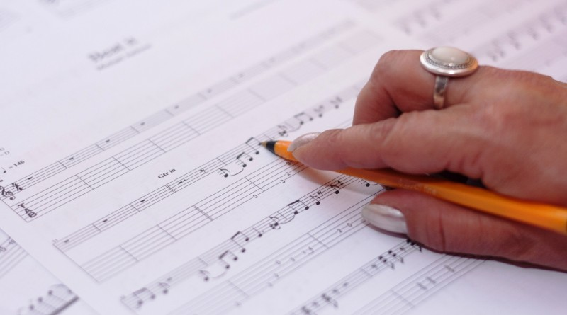composing music melody