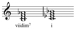half diminished chord